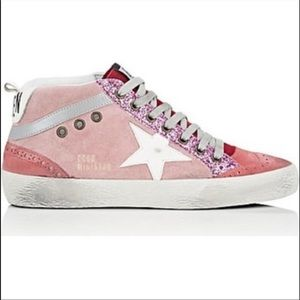 ISO Golden Goose Pink Mid Star Sneakers 36 or 37!!